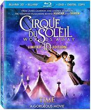 Cirque Du Soleil . Worlds Away . 3D + 2D . Limited Edition . DVD + Blu-ray . NEU
