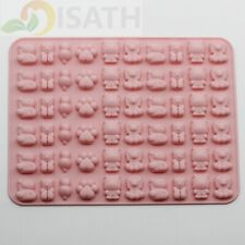 Animals Silicone Soap mold Candy Chocolate Fondant Tray ICE Cube