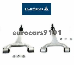 Lemforder Forward Front Upper Left & Right Control Arms 1633330001 1633330101