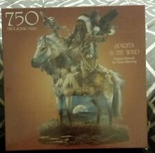 """NIP 2002 Bits & Pieces 750pc """"Spirits in the Wind"""" Native American Puzzle Horse"""