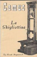 Campus La ghigliottina Longanesi 1958