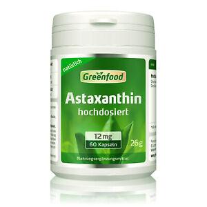 Astaxanthin, 12mg, 60 Kapseln