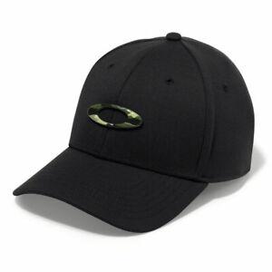 Oakley NEW Men's Tincan Cap - Black / Graphic Camo BNWT