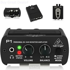 Behringer Powerplay P1 In-Ear Monitor Amplifier For Personal Monitor Application