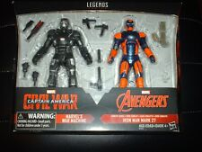 Marvel Legends War Machine Civil War Iron Man Mark 27 Target Exclusive 2 Pack