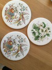 circular ceramic tiles cheese board 6inch  vintage