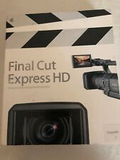 Apple Final Cut Express HD Upgrade Video Editing Software for Mac [103]