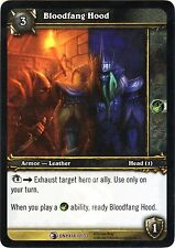 WOW Bloodfang Hood 10/33 ONYXIA NEW MINT FOIL ENG WORLD OF WARCRAFT EPIC