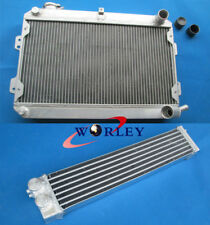3 Rows For Mazda RX7 S1 S2 S3 SA FB 1979-1985 80 81 Auminum Radiator + Oilcooler