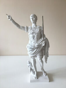 Augustus of Prima Porta Statue - Roman Emperor Sculpture in Bonded Marble