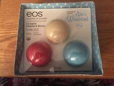 EOS Alice In Wonderland Limited Edition Disney Lip Balm Blue Vanilla Watermelon