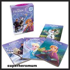 FROZEN Disney THE ICE BOX BOOK SET Princess Anna Elsa Olaf Seven x 4 Board BOOKS