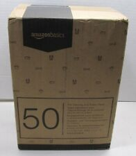 AmazonBasics Regular Pet Dog and Puppy Training Pads - Pack of 50, 22 X 22