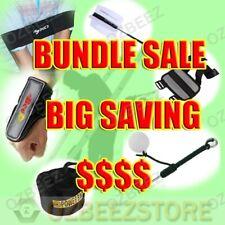 Golf Swing Practice kit Arm Band+Wrist protection+swing Ball+elbow+bag+pinwheel