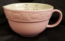 Pink Longaberger collectors 3 cup measuring cup