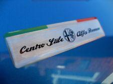 2 x ALFA ROMEO CENTRO STILE ITALIA  BADGES -  GIULIETTA MITO GIULIA SPIDER BRERA