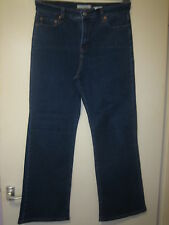 F17)  WOMENS LEVIS STRAUSS 512  PERFECT SLIMMING   ZIP FLY  SIZE 10 LEG 26