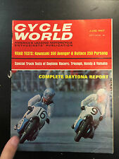 1967 Cycle World June Back Issue Magazine