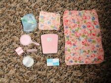 Vintage Barbie Skipper Beauty Bath Accessories Scale Towel Comb Tissue +