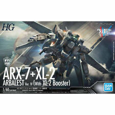 Bandai Hg 1/60 Arx-7 Arbalest VER.IV con Xl-2 Impulsor Kit Full Metal Panic !