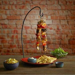 BarBits Espetada Hanging Kebab Stand - Vertical Kebab Skewer Holder Tableware
