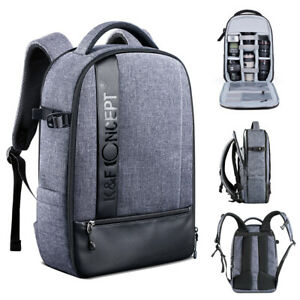 K&F Concept Camera Photo Backpack Bag Case Waterproof for Canon Nikon Sony SLR