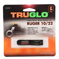 NEW! TRUGLO Rimfire Fiber Optic Sight - Ruger 10/22 Red/Green TG111W