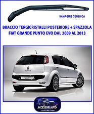 Braccio Tergicristallo Fiat Punto Grande Punto Evo 2009>2013 + Spazzola gomma