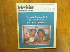 Dec 1, 1985 St. Louis Post TV Magazine(DENNIS  DUGAN/TREVOR EVE/CHASING SHADOWS)
