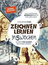 Zeichnen lernen in 5 Wochen | KritzelPixel | Taschenbuch | Deutsch | 2020