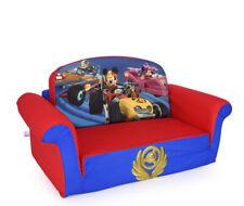 Marshmallow Furniture Children's 2 in 1 Flip Open Foam Sofa Disney Mickey Mouse