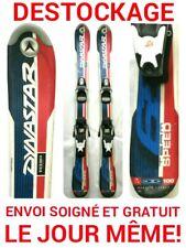 "ski enfant DYNASTAR ""TEAM SPEED"" tailles:90cm/100/110/120/130/140cm+fixations"