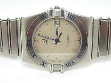 Reloj De Cuarzo OMEGA constelación Manhattan Colección De Acero Hombre usado año 1982
