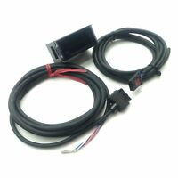 Keyence AP-V80WP Pressure Sensor Amplifier 4-20mA Out 12-24VDC Supply w/Cables