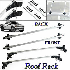 "For Ford F-150 F450 47"" Car Top Luggage Cross Bar 2x Roof Rack Carrier Skidproof"
