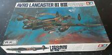 Rare Tamiya 1:48 Avro Lancaster BI/BIII vintage model kit