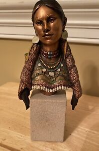 C.A. Pardell Christopher Legends Noble America Sacajawea, Numbered 471/2500,1995