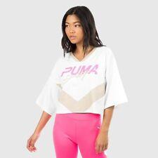 Puma Women's Xtreme Cropped T7 Coogi V Neck T Shirt   XS  Save 30%!!