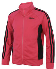 Nwt Adidas Girls Track Jacket Pink/Black Size M(10-12)