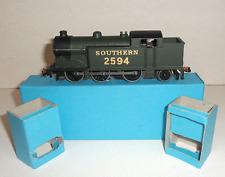 More details for hornby dublo 3-rail edl7 sr 'olive green' 0-6-2 tank locomotive 2594 boxed