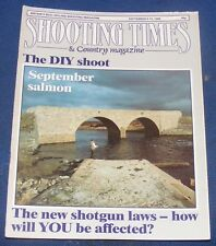 SHOOTING TIMES MAGAZINE SEPTEMBER 8-14 1988 - SEPTEMBER SALMON