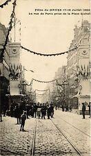 CPA Fétes du Havre-La rue de Paris prise de la Place Richeli (349174)