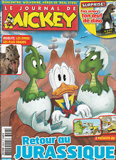 LE JOURNAL DE MICKEY N° 3096 . oct 2011 . RETOUR AU JURASSIQUE . WOLVERINE