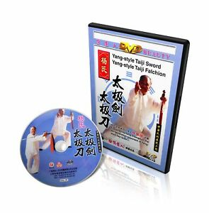 Yang Style Taichi Taiji Single Sword & Tai Chi Broadsword - Yang zhenduo DVD