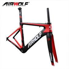 Airwolf Full Carbon Road Bike Frame Fork Seatpost 700C BSA Racing Framesets 2018