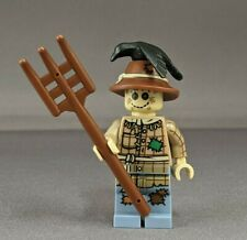used Lego Minifigure SCARECROW - Collectible Minifigure series 11 Halloween lot