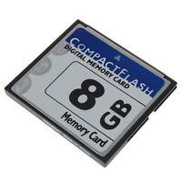 8GB 8 G CF Memory Card CompactFlash 133X High Speed for Digital Camera/Cellphone