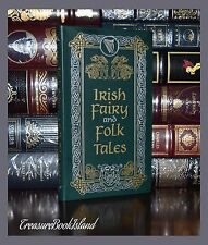 Irish Fairy & Folk Tales New Soft Leather Bound Pocket Collectible Gift