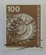 100 x Briefmarke BRD  Michel 854