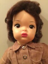 Doll Terri Lee Girl Scouting Brownie with Brunette Wig tagged 1950s
